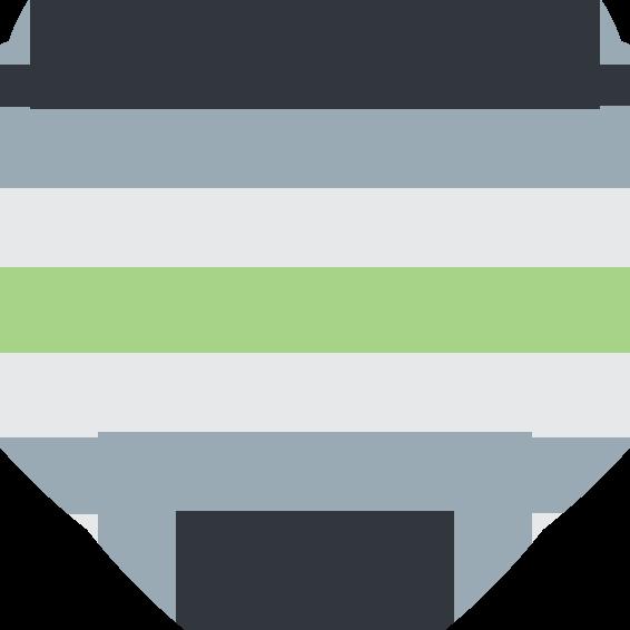 :agender_pride_heart: